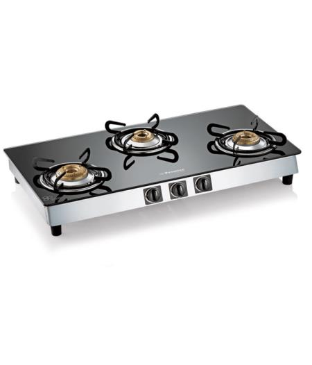 Online Shopping Of PREMIER 3GX 00339 GLASS TOP STAINLESS STEEL MANUAL  IGNITION 3 BURNER GAS STOVE At Best Prices From Your Nearby Store In  Chennai, ...